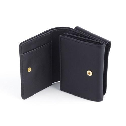 더블더블 양면 파우치 반지갑-black