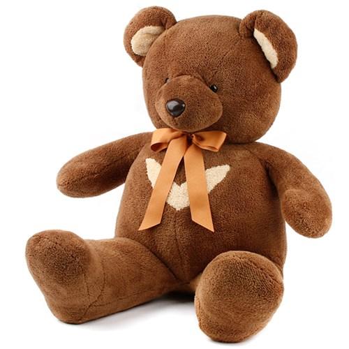 영아트 뉴 반달곰 인형-초코브라운 (옵션)