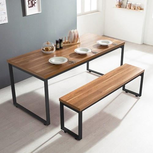 [세트할인] 스틸헤비 테이블+의자세트1800x600 사각 / 4_(11394429)