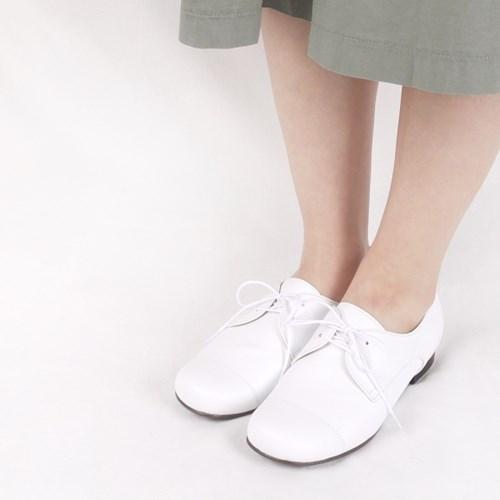 HS1706 Derby Shoes_White Goat