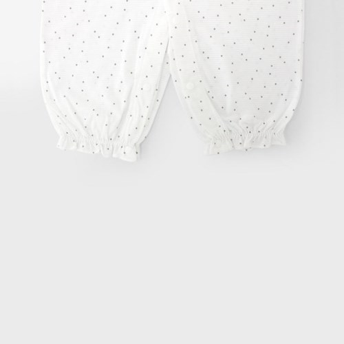 [메르베] 미니도트 신생아 우주복/북유럽아기옷_여름용(_(1019937)
