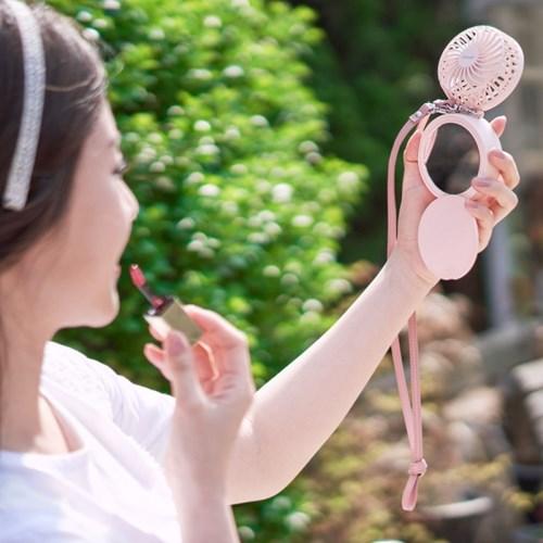 프롬비 휴대용 선풍기 핸즈프리 아이스볼+가죽넥스트랩 사은품