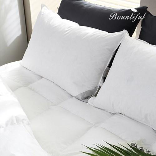 호텔식 베개솜 덕다운 삼중구조 오리털베개 1000g