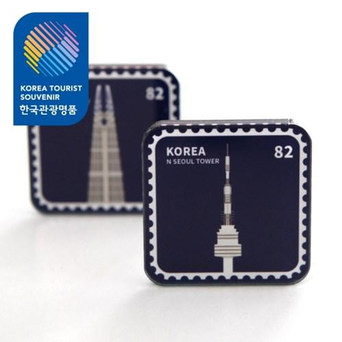 한국 랜드마크 우표자석