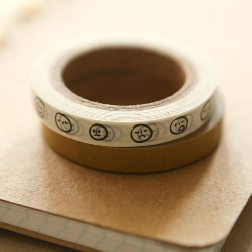 Masking tape slim 2p - 02 Scribble