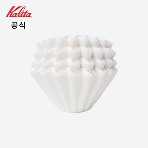 칼리타 웨이브 커피필터 KWF-185 100매 화이트