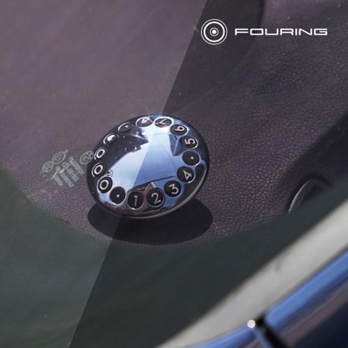 넘버 오르빗 주차번호판 조형미가 돋보이는 차량용품
