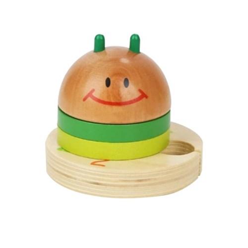 탑브라이트 알록달록 애벌레 도형쌓기 장난감