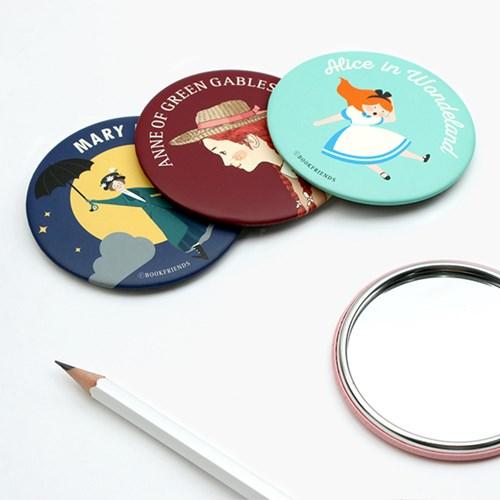 세계문학 원형 손거울 (4type)