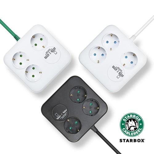 러그 스타박스 멀티콘센트 USB포트 콘센트