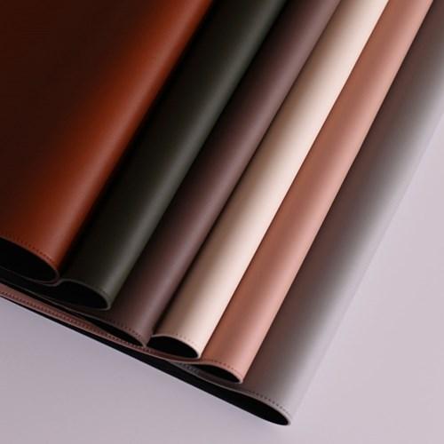 오피스룩 데스크 가죽패드 6colors (사각/원형)