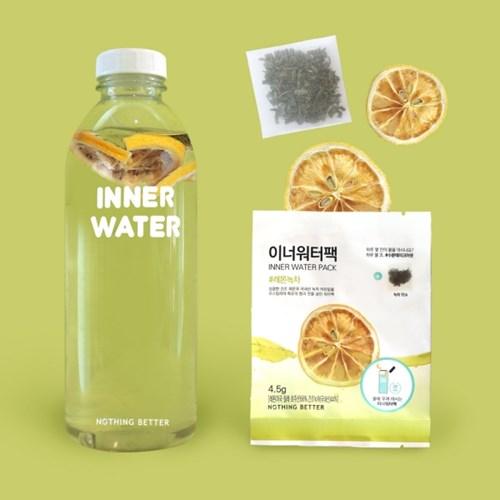 [이너워터팩] 레몬녹차 20일 물 마시기