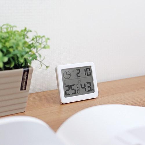 쾌적한 실내환경 BIG LCD 스마트 온습도 시계 Urban_(884209)