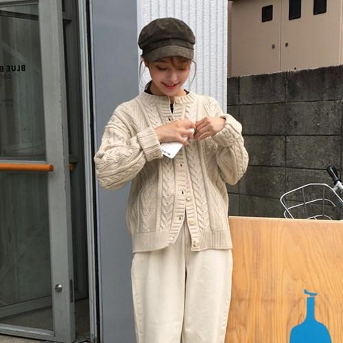 볼드 니트 가디건 (5color)