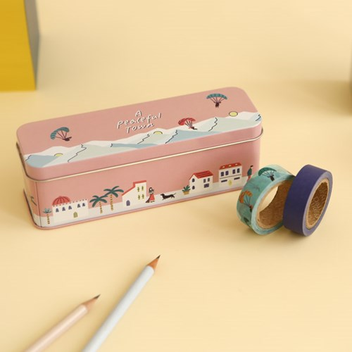 [한정] Masking tape 10p set - 01 A peaceful town