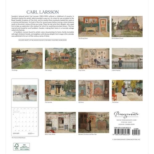 2019 캘린더 Carl Larsson
