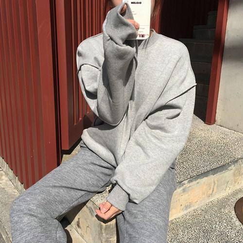 [MADE] 양기모 오버 패치 맨투맨 (4color)