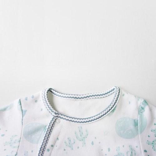 [메르베] 푸른사막 신생아 우주복/북유럽아기옷_사계절_(1132918)