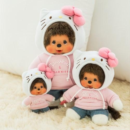 Hello Kitty x Monchhichi S