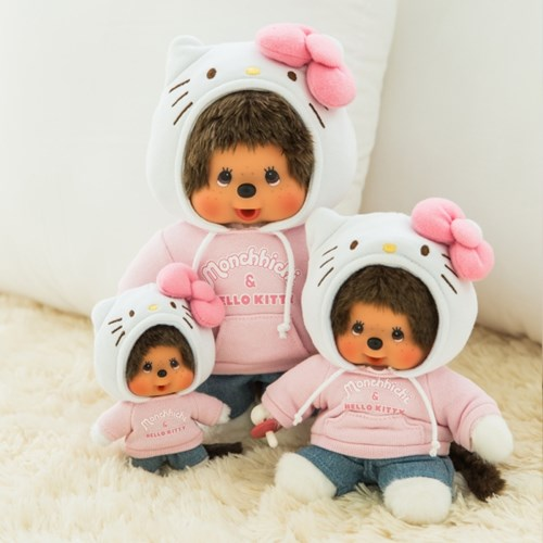 Hello Kitty x Monchhichi M