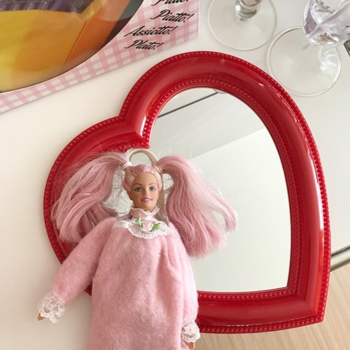 Heart Bubble Mirror