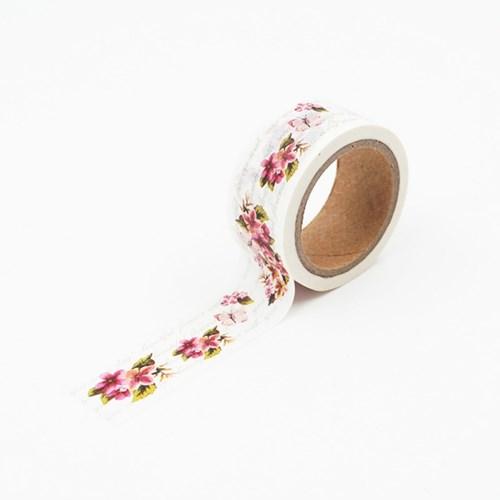 복사꽃과 적백합 마스킹테이프