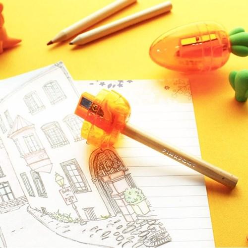 핑크풋 당근 연필 깍이