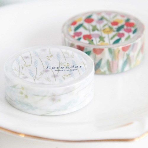 Flower Pattern Masking Tape