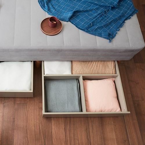 [두닷모노] 로디 서랍형 침대 SS_서랍 2EA/화이트