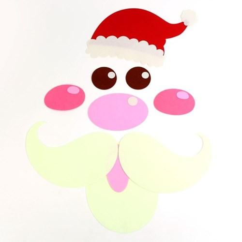 펠트 크리스마스 캐릭터 장식세트 - 산타