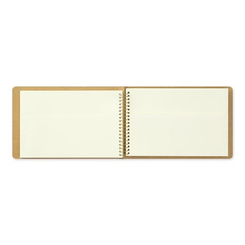 SPIRAL RING NOTEBOOK (B6) Paper Pocket