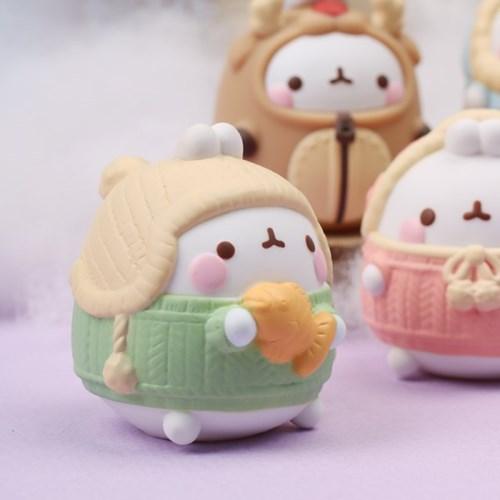 포근포근 몰랑몰랑 랜덤피규어 - winter special (박스)