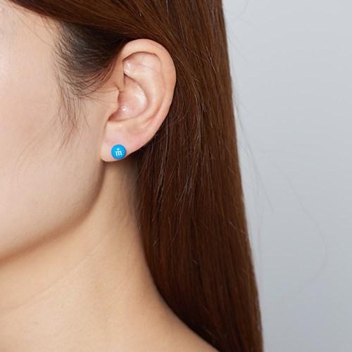미니 M&M 엠엔엠즈 귀걸이