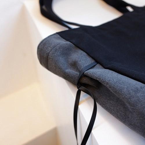 [파우치 증정] Two color strap 에코백