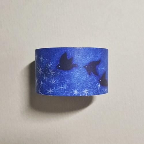 [에코드소울] Masking Tape - Starry Night (25mm)