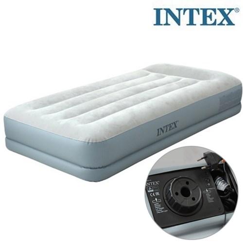 INTEX 인텍스 듀라빔 스탠다드 에어매트 / 펌프내장형 에어침대
