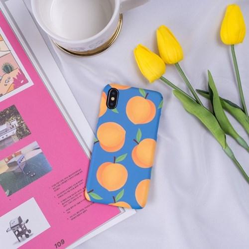 황도복숭아 패턴 폰케이스 (아이폰 & 갤럭시)