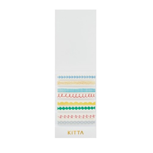 [KITTA Slim] 포켓형 마스킹 테이프_KITS005 라인