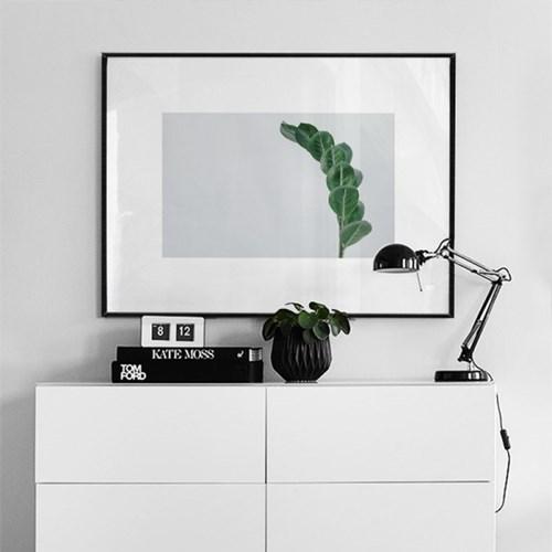미니멀리즘 인테리어 대형액자 그린드랍 GMN15-60x80
