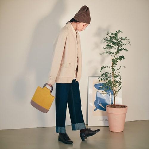 Woodie Knit Tote Bag