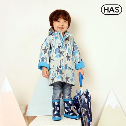 [HAS] 아동 레인코트_쉘피쉬