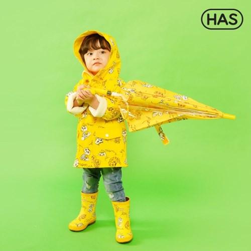 [HAS] 아동 레인코트_야옹고양이 옐로우