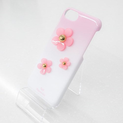 3 FLOWER GRADATION 아이폰 카드수납케이스