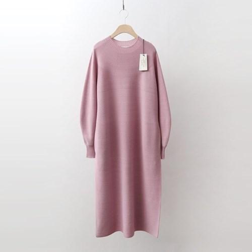 Hoega Wool Volume Long Dress