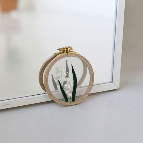 포시즌가든 투명자수시리즈 KIT - 은방울꽃 Lily of the valley