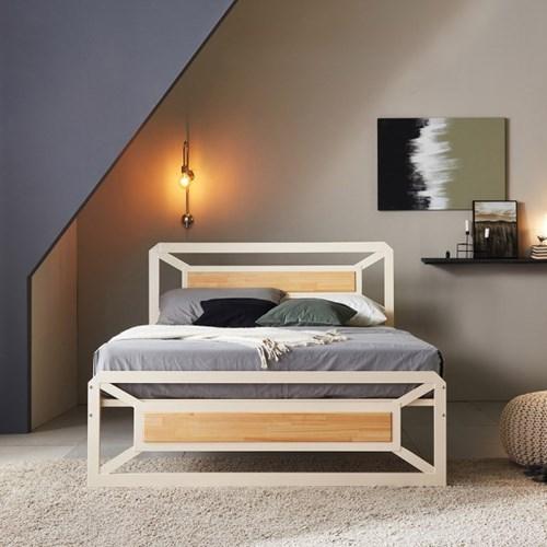 멀바우/편백나무 이층침대 퀸 슬라이딩침대F Q(7존)