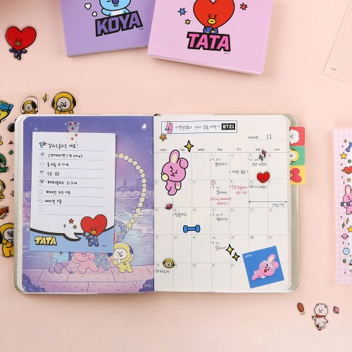 [BT21] MEMO PAD POP_(798674)