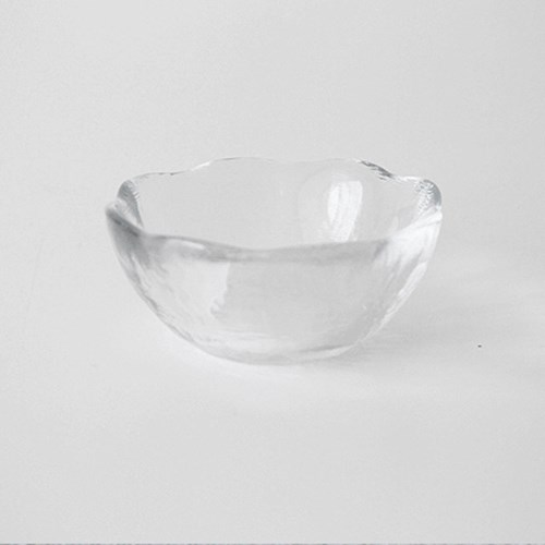 [The Flat74]생활유리그릇 꽃 종지 소스볼 8cm