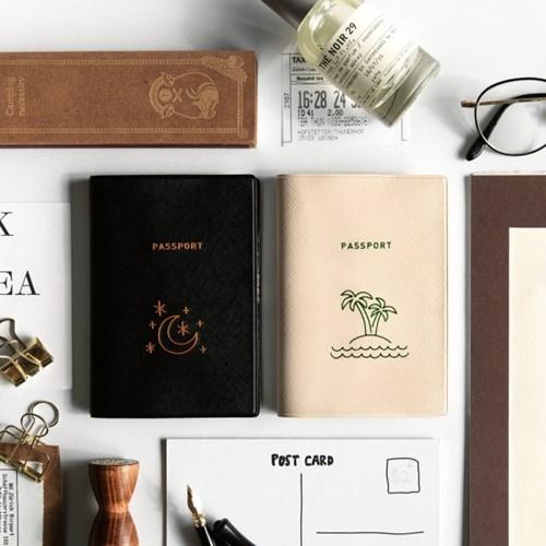 트래블러 여권 케이스 - ISLAND