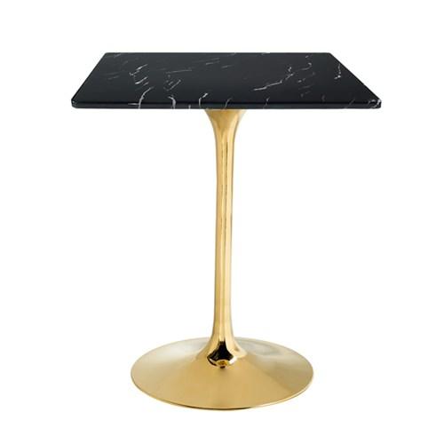 대리석 사각 골드플라잉 테이블